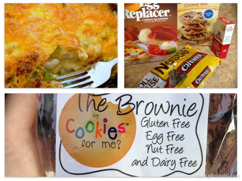 Lifestyle change, gluten free, egg free, nut free foods